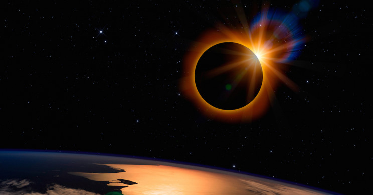 The Next Total Solar Eclipse Is upon Us, Offers Stunning Amber Hues