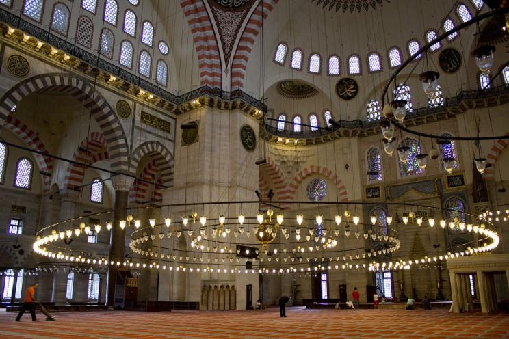 Süleymaniye Mosque Interiors