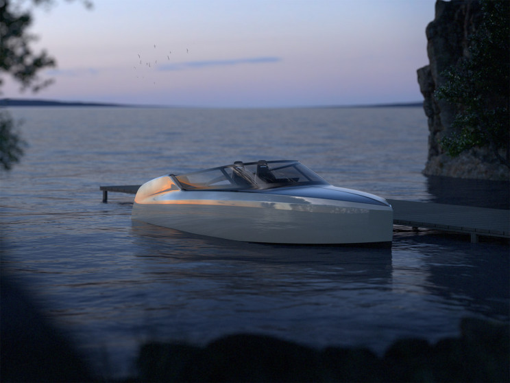 A Novel Zero-Emissions Foiling Powerboat Can 'Glide' Over Water at 38 Knots
