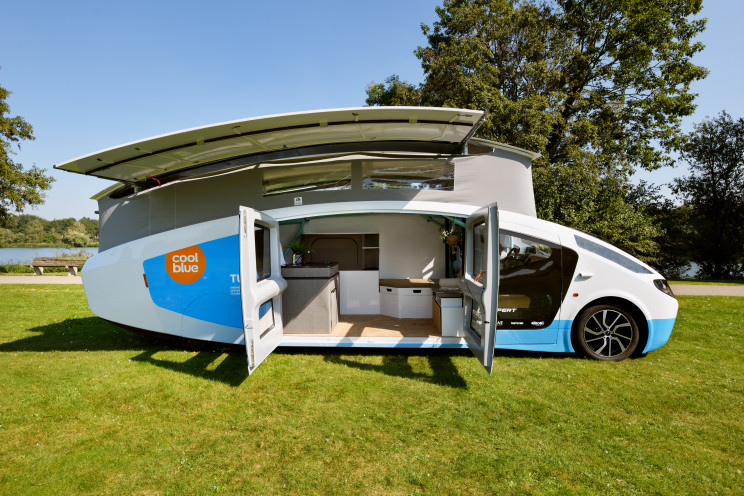 The solar powered mobile home