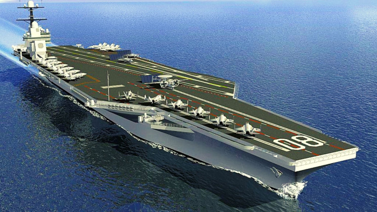 The US Navy Just 'Cut Steel' on the Next Generation of Advanced Carriers