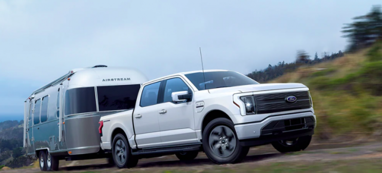 Ford Unveils New All-Electric F-150 Lightning Pickup Truck