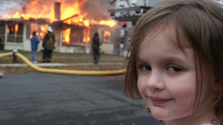 Disaster Girl Meme Sells as an NFT for $500,000