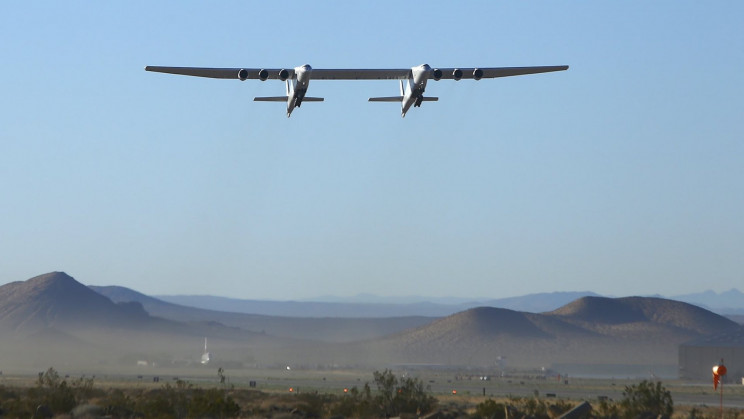 Watch The World's Largest Plane Fly Again After Two Years