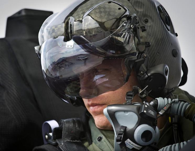 F-35 helmet-mounted display system