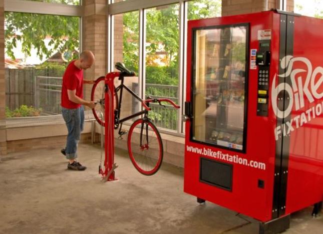 vending machines bike parts