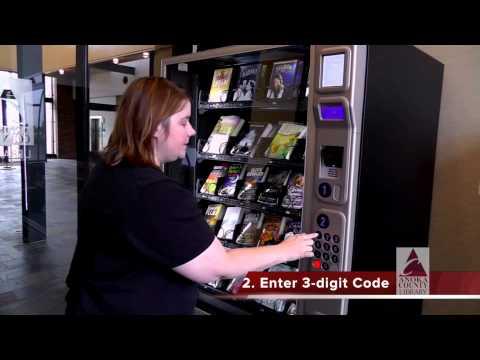 vending machines books