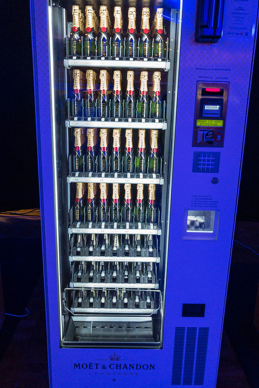 vending machines champagne