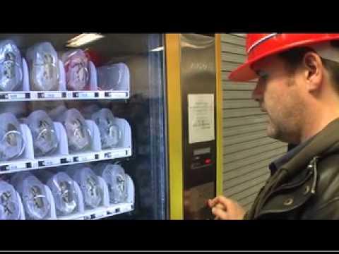 vending machines crabs