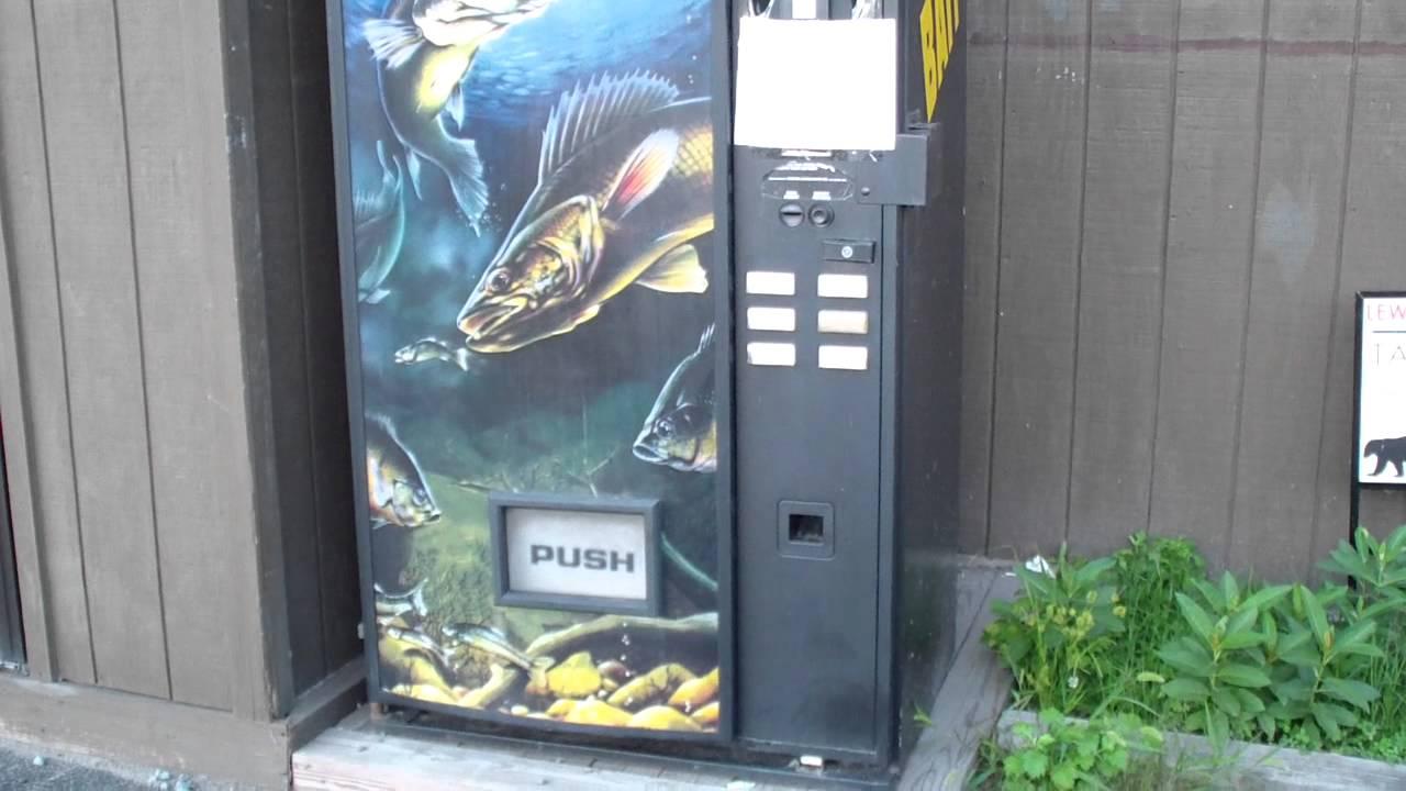 vending machines fish