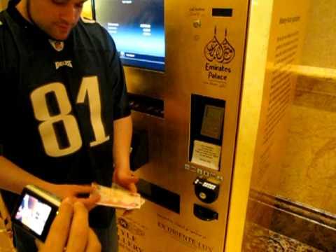 vending machines gold