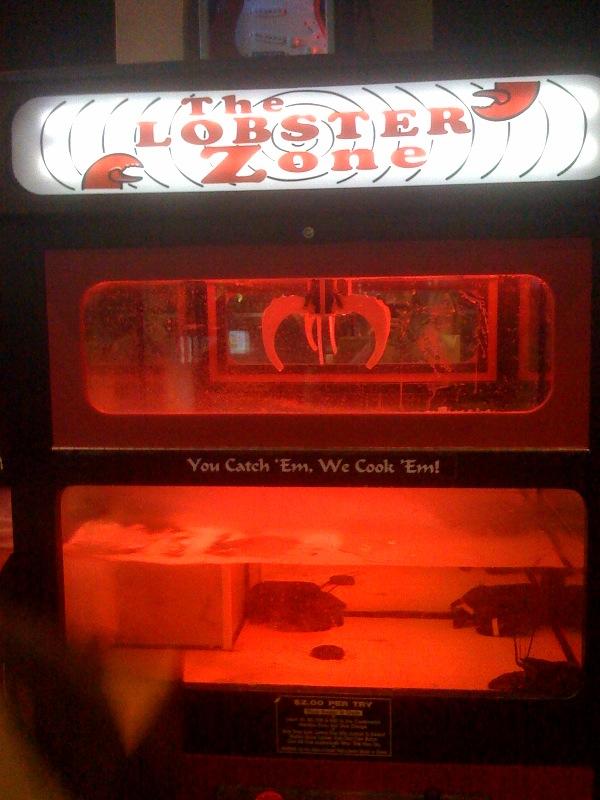 vending machine lobster