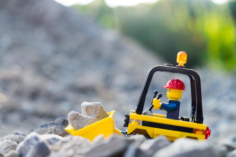 designing lego kits building