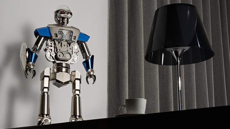 This $57,750 Robot Table Clock Is As Intricate As It Sounds