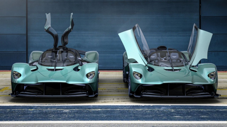 Aston Martin's Fastest Convertible Valkyrie Spider Offers F1 Experience