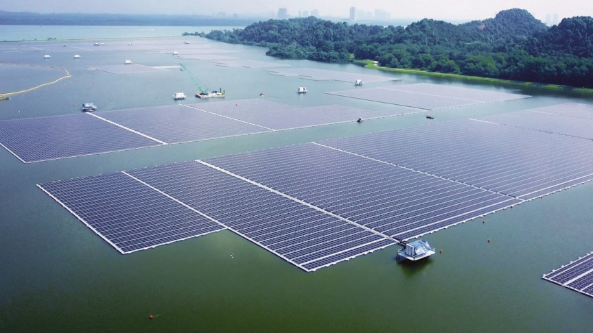 Singapore Opens 122,000-Panel Floating Solar Farm
