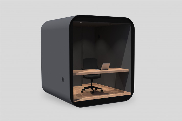 'Studypod' Is A Minimalistic Stay-at-Home Office Cabin