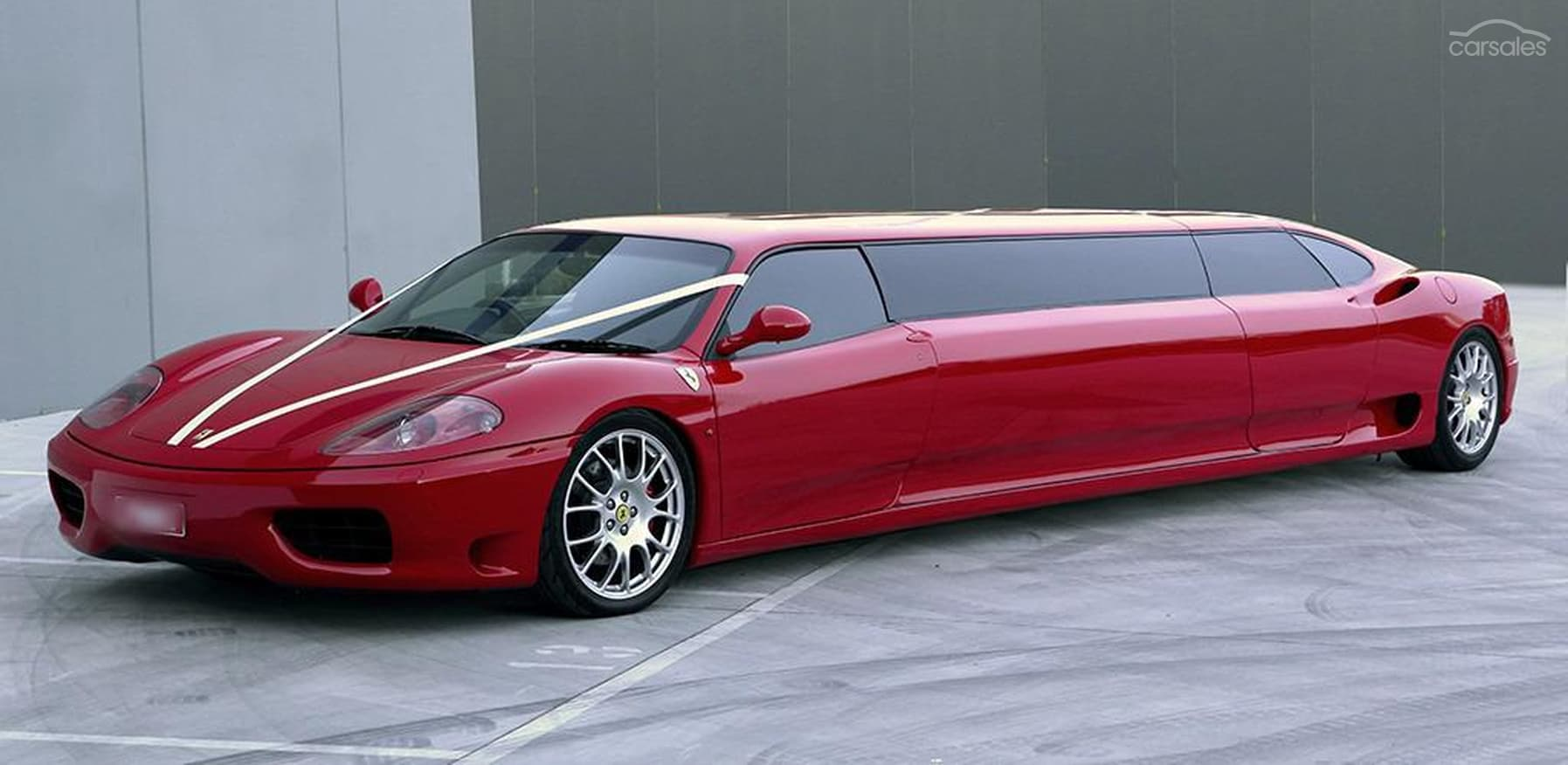 This Crazy Ferrari 360 Modena Limo Is Up For Sale In Australia