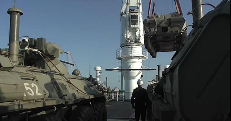 BTR-82 APCs