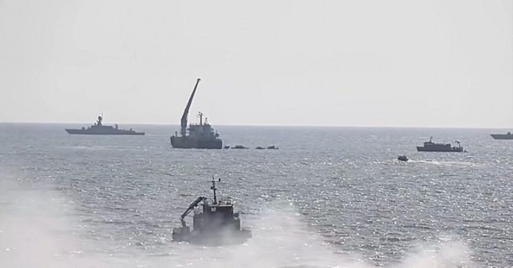 Caspian Sea Russian Flotilla