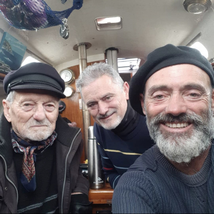 Son Sails Across Atlantic to Reach His Father on His 90th Birthday