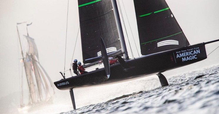 Creaform Measures Up for Cutting-Edge Sailing Yacht Design