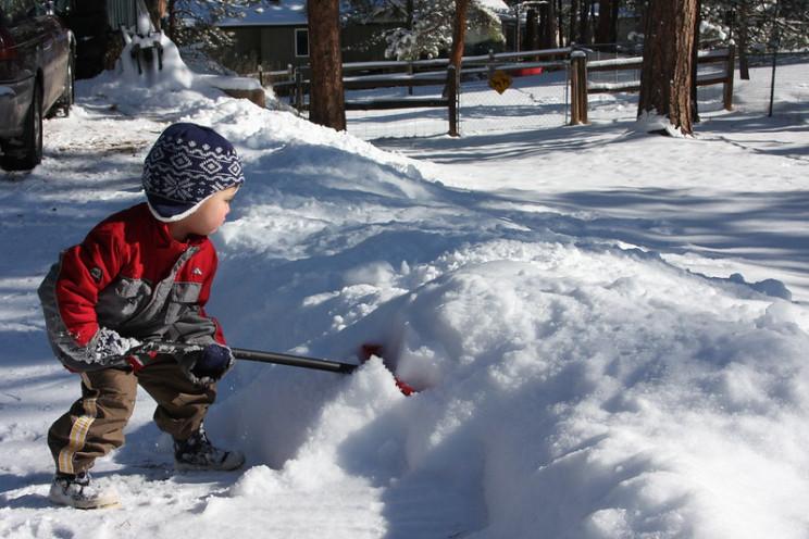 snow removal shovel snow