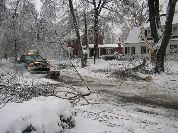 snow removal snowplow