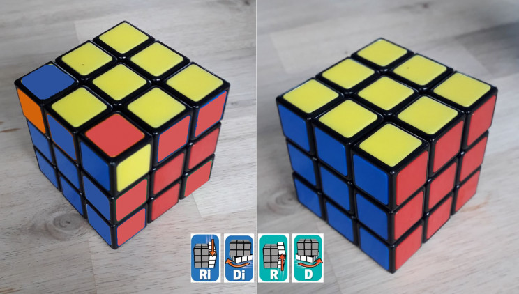 solve rubik's cube finale