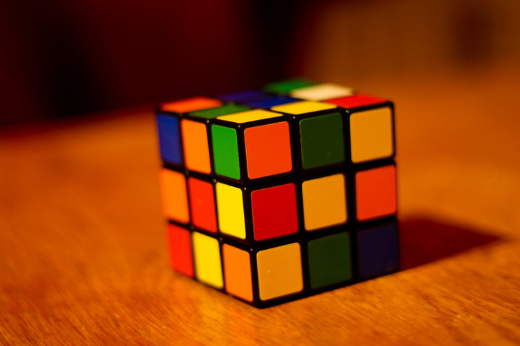 rubik's cube unsolved cube
