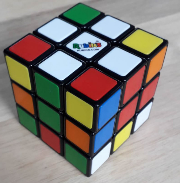 rubik's cube white cross