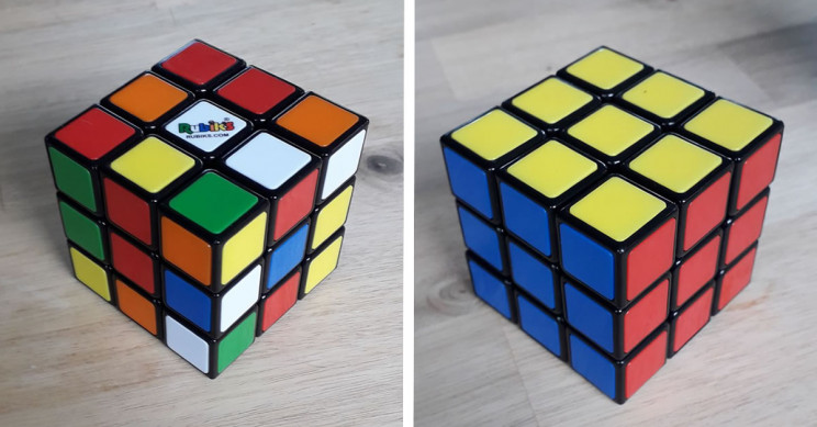 How To Solve a Rubik's Cube by Using Algorithms