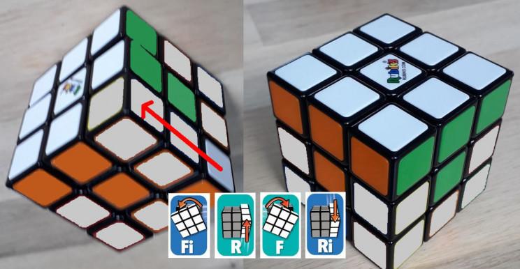 rubiks cube corners