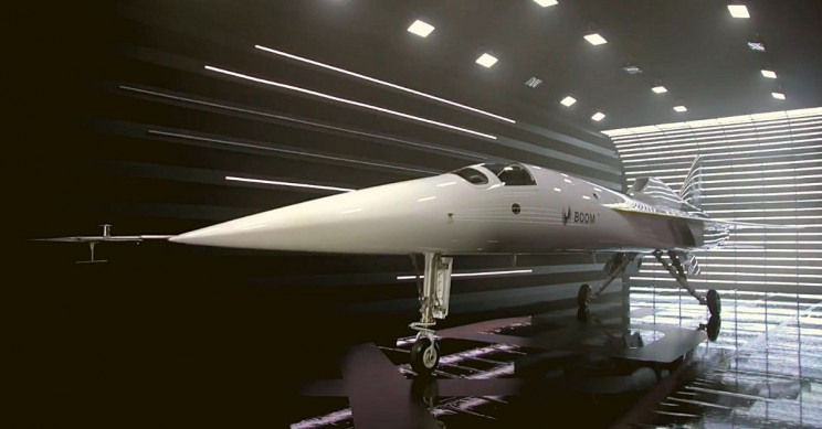 Boom Supersonic Elongated Nose
