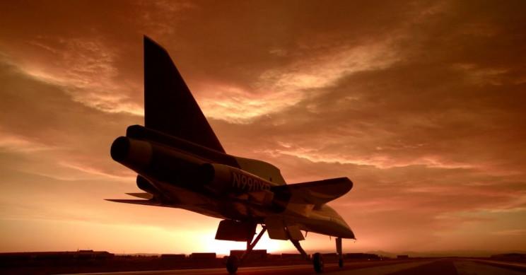 Boom Supersonic Mojave Desert