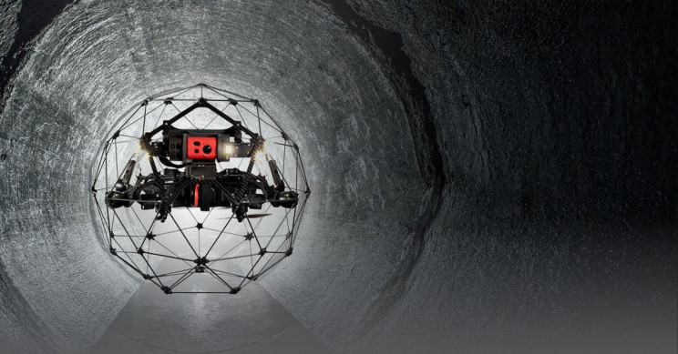 Drone Company Helps Researchers Dive Into Chernobyl Reactor Five With Elios 2