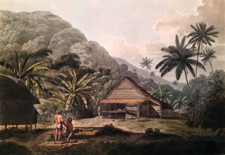 Krakatoa village
