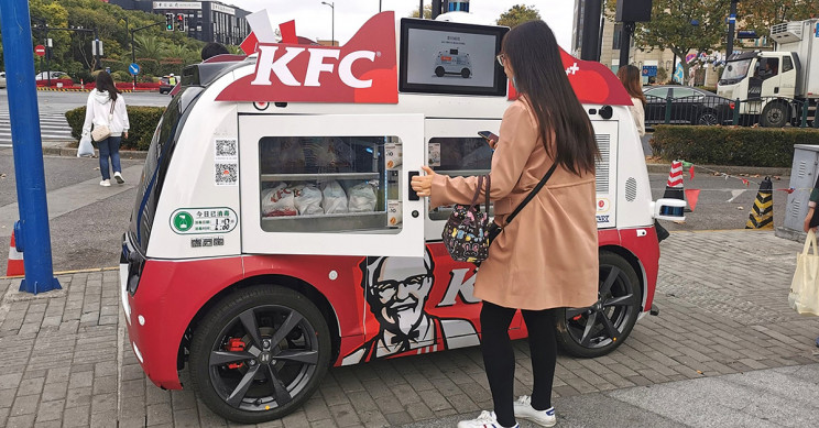 KFC Rolls Out Self-Driving 5G 'Chicken Trucks' in China