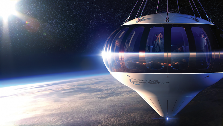Space Tourism Startup Wants to Take You On a Tour Around the Earth for $125,000