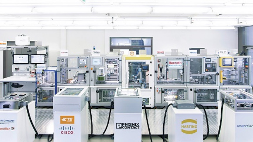 Designing and Optimizing a Factory for IoT and Manufacturing