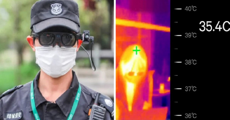 """AR COVID-19 Glasses Allow You to """"See"""" the Temperature of Those around You"""