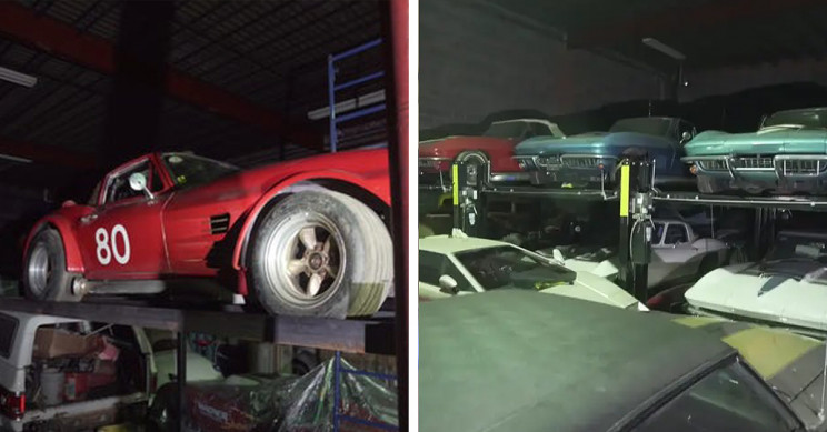 Enormous 300-Car Barn Find to Be Auctioned With YouTuber's Help