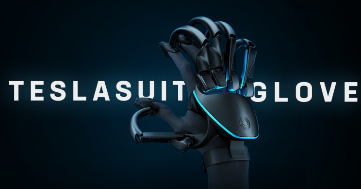 Teslasuit's New VR-Powered Glove Lets You Feel Physical Objects in Virtual Reality