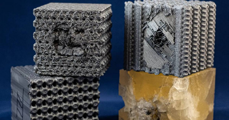 Researchers 3D Print Bulletproof Plastic Layered Cubes