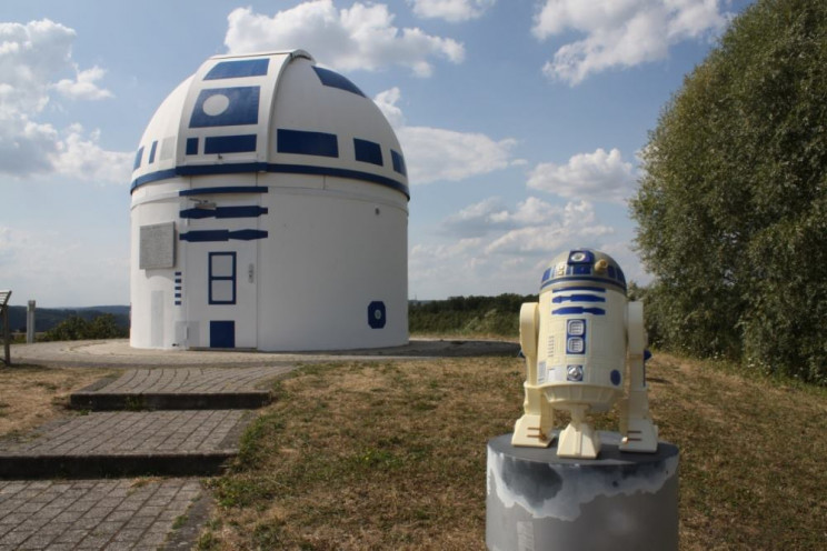 Completed observatory