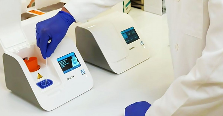 Abbott Laboratories Creates 5-Minute Portable COVID-19 Test