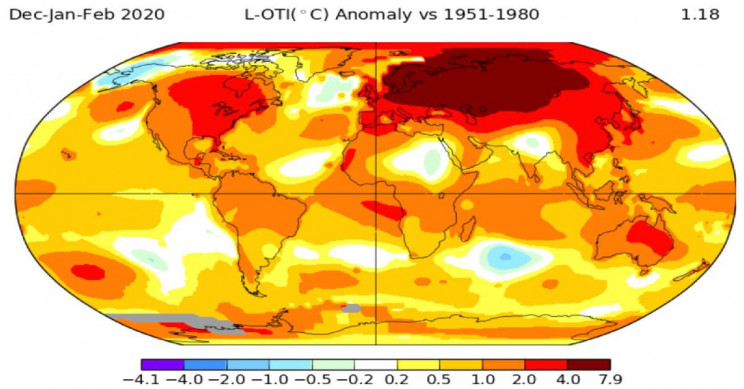 Russia Experienced Its Warmest Winter in 130 Years