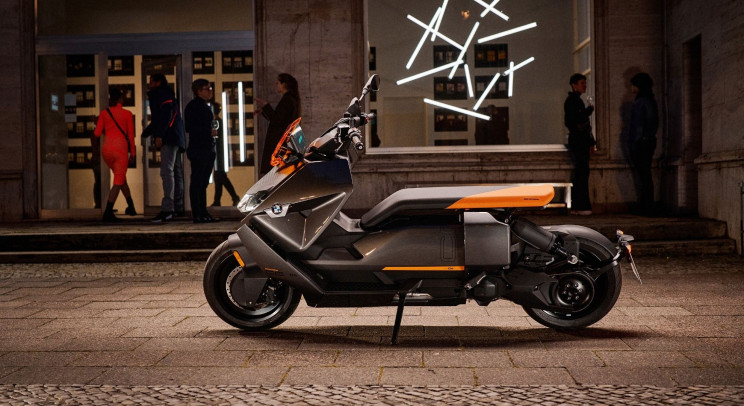 BMW's New Electric Scooter Has Both Style and Substance