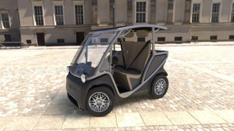 Mini Solar-Powered Cars Could be The Future of Urban Mobility