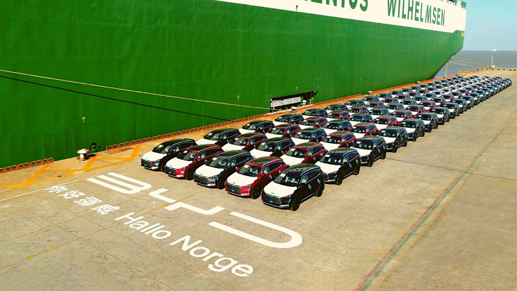 China's All-Electric Fleet Is Entering Europe